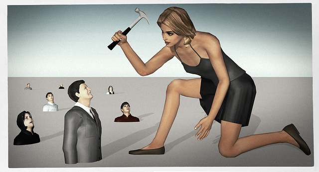 """""""If you only have a hammer, you tend to see every problem as a nail."""" - Abraham Maslow"""