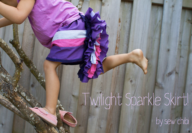 twilight sparkle skirt