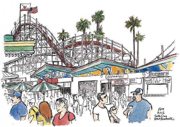 santa cruz beach boardwalk sm