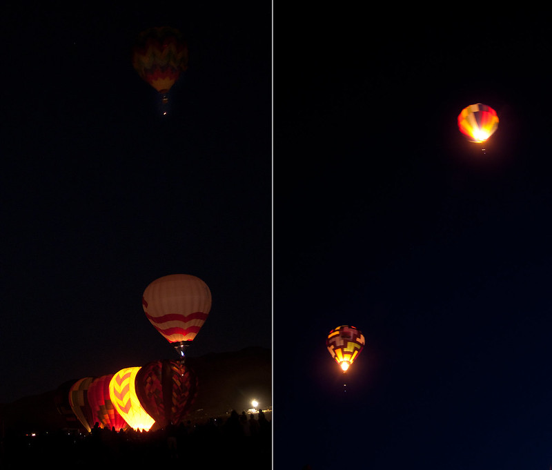 Twinkle twinkle balloon star, Dawn Patrol, Great Reno Balloon Race