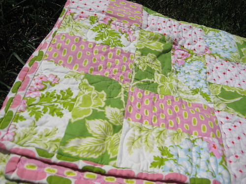 Riley's Quilt Folded