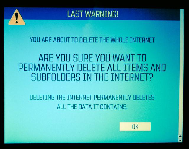 Delete Internet
