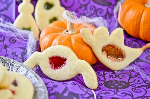 Halloween Window Cookies 4