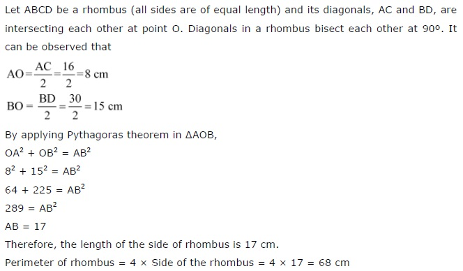 NCERT Solutions for Class-7th-Maths Chapter 6 The Triangle and its Properties Exercise 6.5