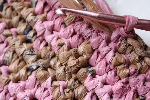 crocheting with plarn