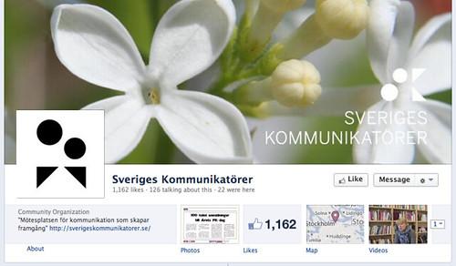 Sveriges kommunikatörer på Facebook