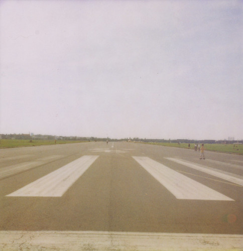 Out at Tempelhof