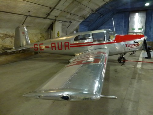 SAAB 91A Safir from 1945 (still airworthy!), Aeroseum