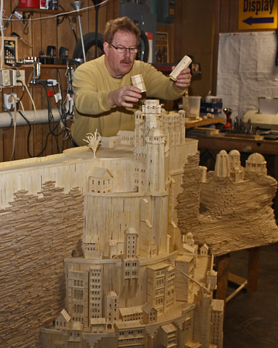 Building of the Minas Tirith Model