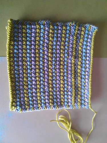 Mosaic garter stitch for KAS by TracyMaybe