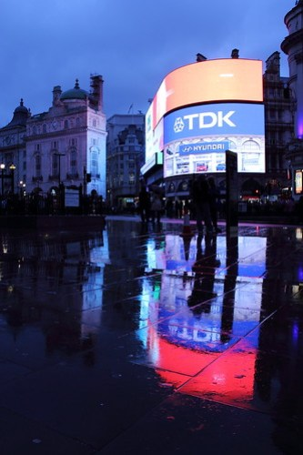 This is the LONDON, rainy city of London