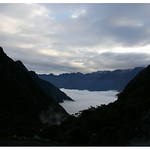 Inca Trail Day 2 campsite: Fog rolling in