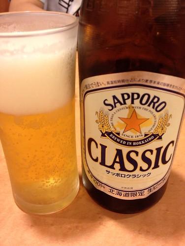 サッポロクラシック瓶