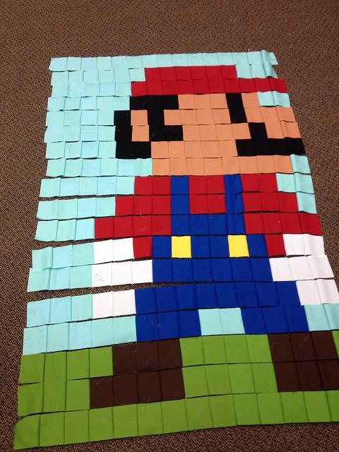 Sew In Mario Progress