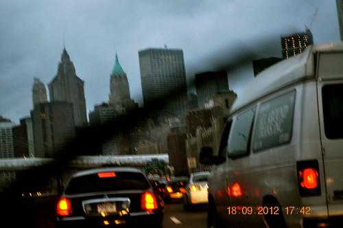 Traveling through Manhatten, NY