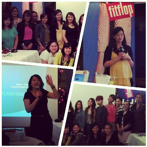 Fitflop Due launch event at Sonya's Garden
