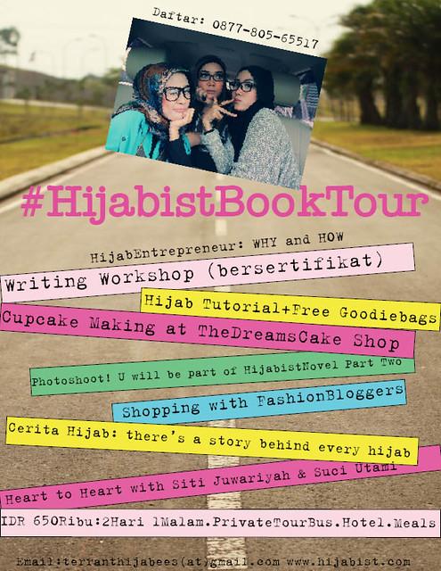 hijabist book tour ad
