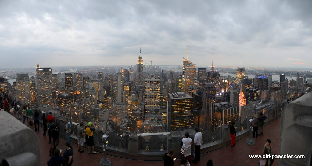 "Manhattan from the Roof of Rockefeller Center (""Top of the Rock"") by Dirk Paessler"
