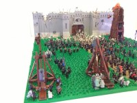 for the people, freedom and honor! Castle Diorama - LEGO ...