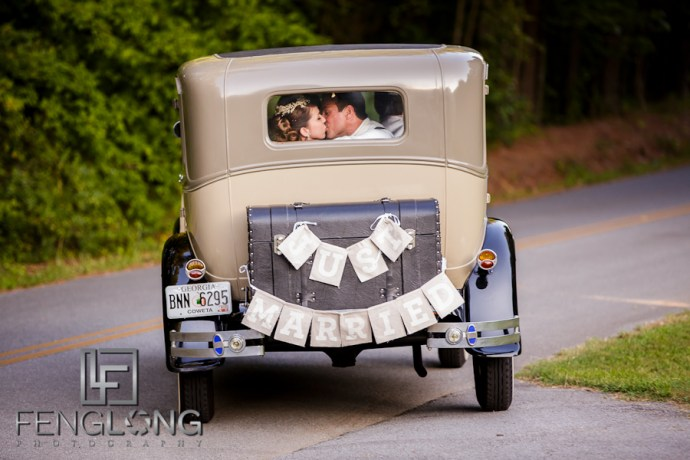 Kera & Eric's Wedding | The McGarity House | Atlanta Wedding Photographer