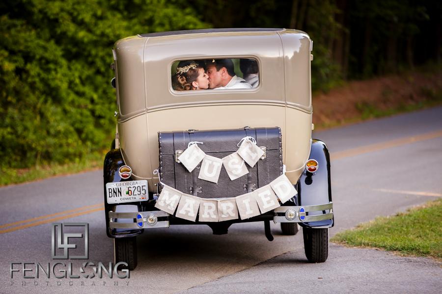 Kera & Eric's Wedding | The McGarity House | Atlanta Wedding Photographer