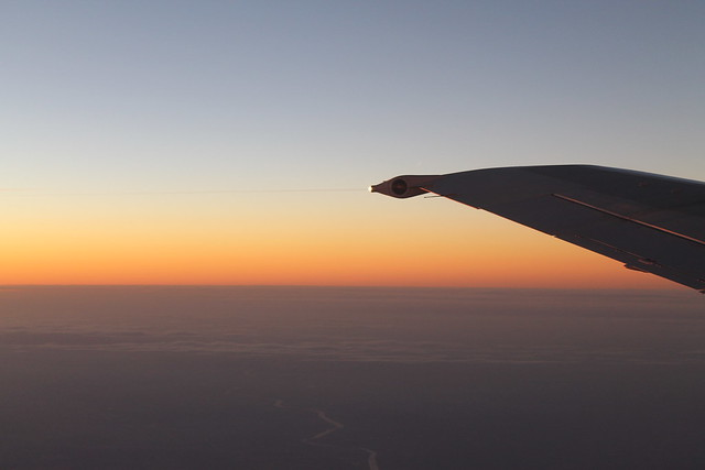 Twilight, OK763 from CDG to PRG.CDG