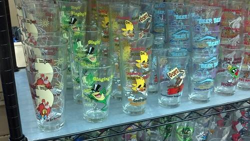 Comic Drinking Glasses at Baltimore Comic-Con