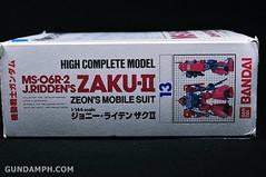 HCM MS-06R-2 Johnny Ridden's Zaku-II (144 scale) 1984 make (8)