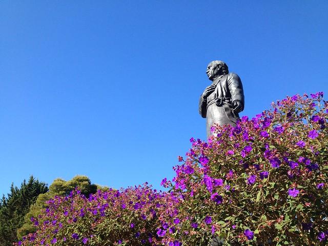 Statue of Miguel Hidalgo, Dolores Park