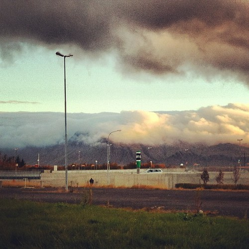 #esja sleeping under a #blanket of #clouds #reykjavik #iceland