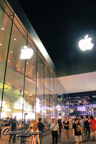 Apple Logo Shine