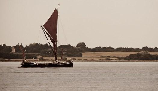 Thames Barge Wyvenhoe