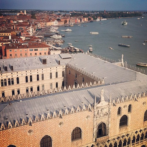 Palazzo Ducale from the clock tower