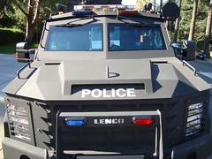 BearCat obrnené vozidlo