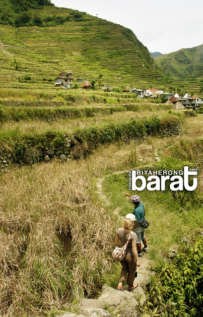 hiking in Batad Terraces ifugao