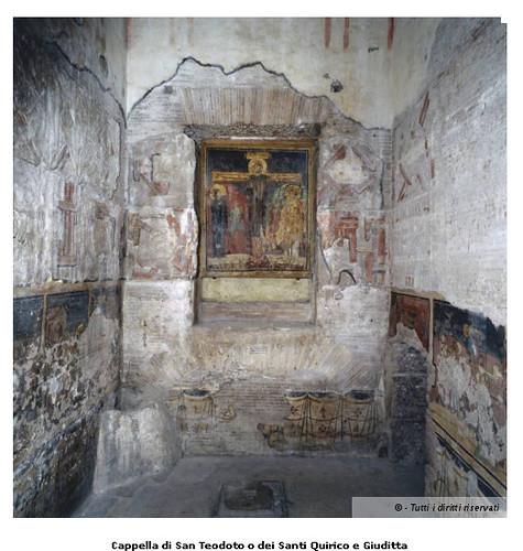 ROMA - Apertura straordinaria del cantiere di restauro del ciclo di affreschi altomedievali di Santa Maria Antiqua nel Foro Romano, SSBAR/MiBAC (01/10/2012). by Martin G. Conde