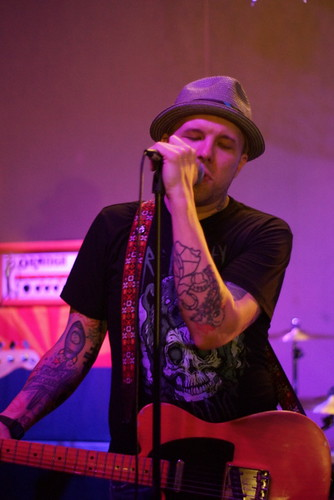 The Ataris, Motorco Garage, Durham NC, 10/02/12
