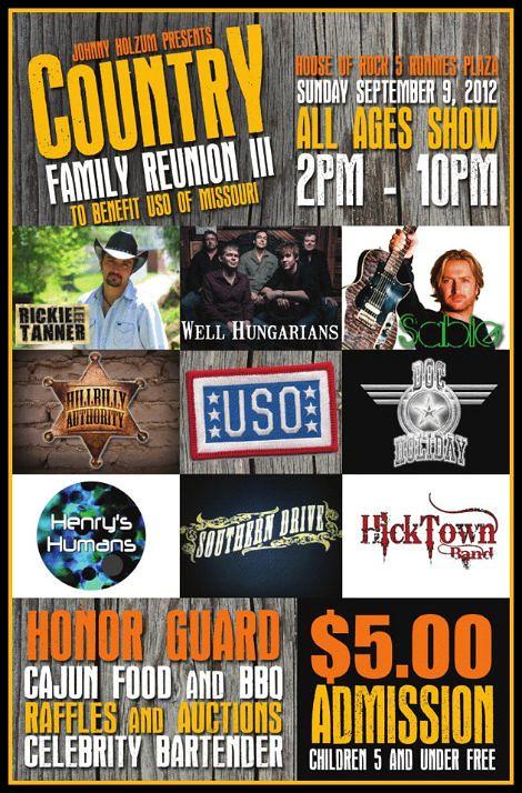 Country Reunion III 9-9-12