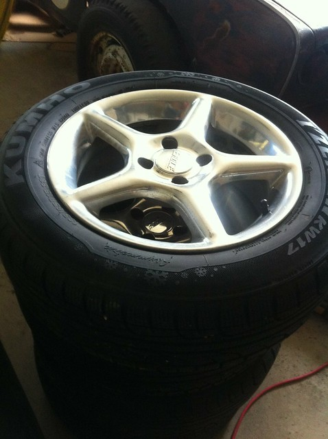 Winter boots for the Mazda 2 - Eagle 192