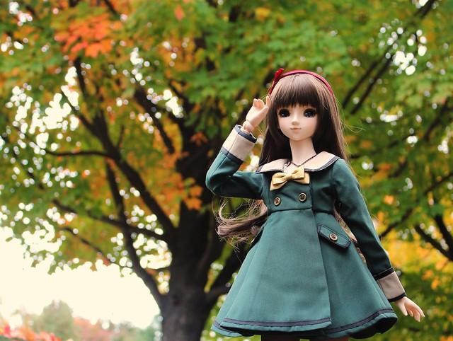 Annalise in Autumn