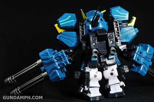 SDGO Capsule Fighter Heavy Arms Custom Toy Figure Unboxing Review (34)