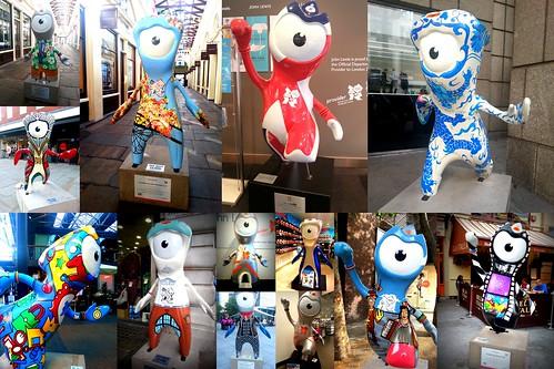 Wenlock 2012 Collage