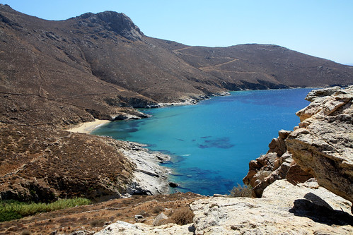 Take it easy on the several wonderful beaches of Serifos