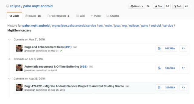 Android] การใช้งาน mqtt client ใน paho android service เพื่อ