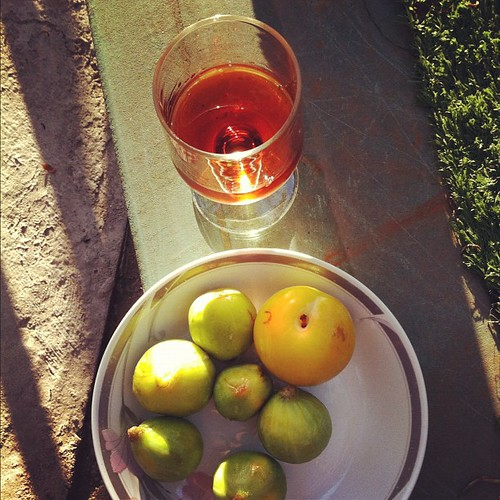 10yo tawny with fresh figs and plum