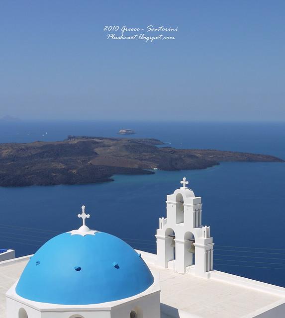 ▌Greece ▌ Fira – 尋找藍頂教堂