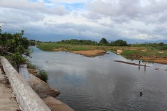 Confluence of two rivers