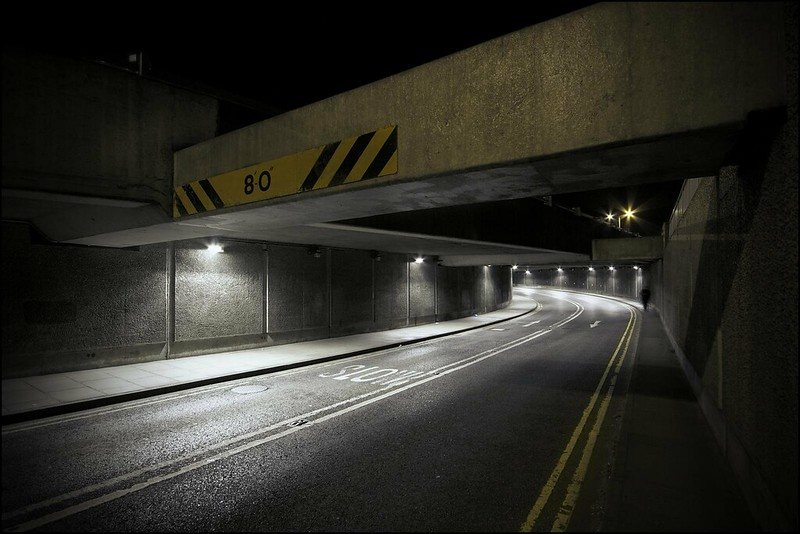 Nottingham Road Tunnel, Derby