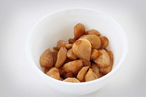 Poached Garlic