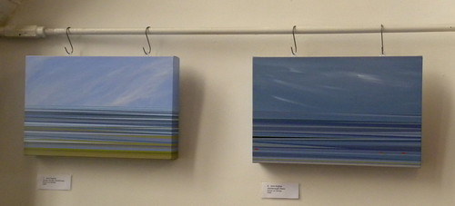 Sea Scapes – Land Shapes: An exhibition of contemporary painting by Erica Hamilton, Sylvia Hikins and Jane Hughes